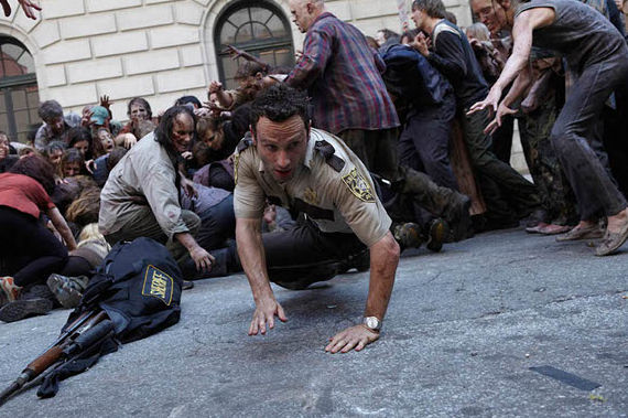walking dead 2 New Walking Dead Promo Highlights Zombie Action