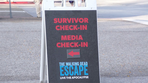 walking dead escape 6 Screen Rant vs The Walking Dead Escape: A Comic Con Experience