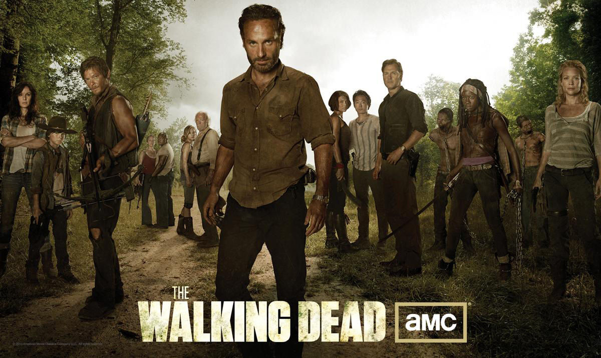 walking dead cast photo New 'Walking Dead' Season 3 Poster: Has the Group Finally United?