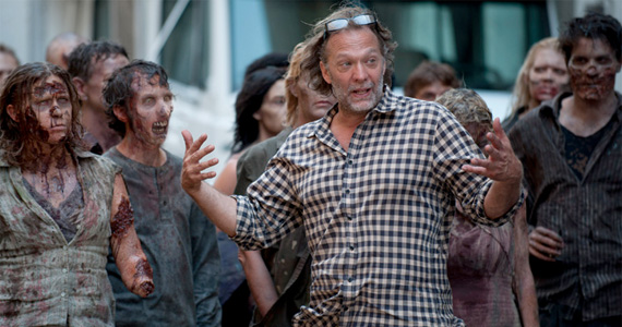 walkingdead nicotero directingzombies The Walking Dead Season 4: Watch the Zombie Auditions