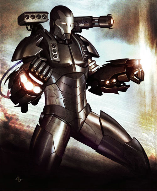 Iron Man 2 war machine picture