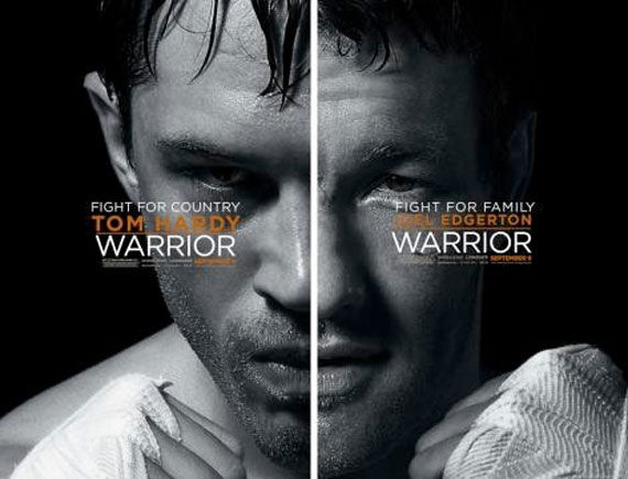 warrior poster Movie Poster Roundup: Fast Five, Thor, X Men: First Class & More