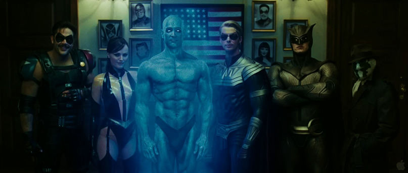 watchmen group photo Should Hollywood Listen to Fanboys About Comic Book Movies?