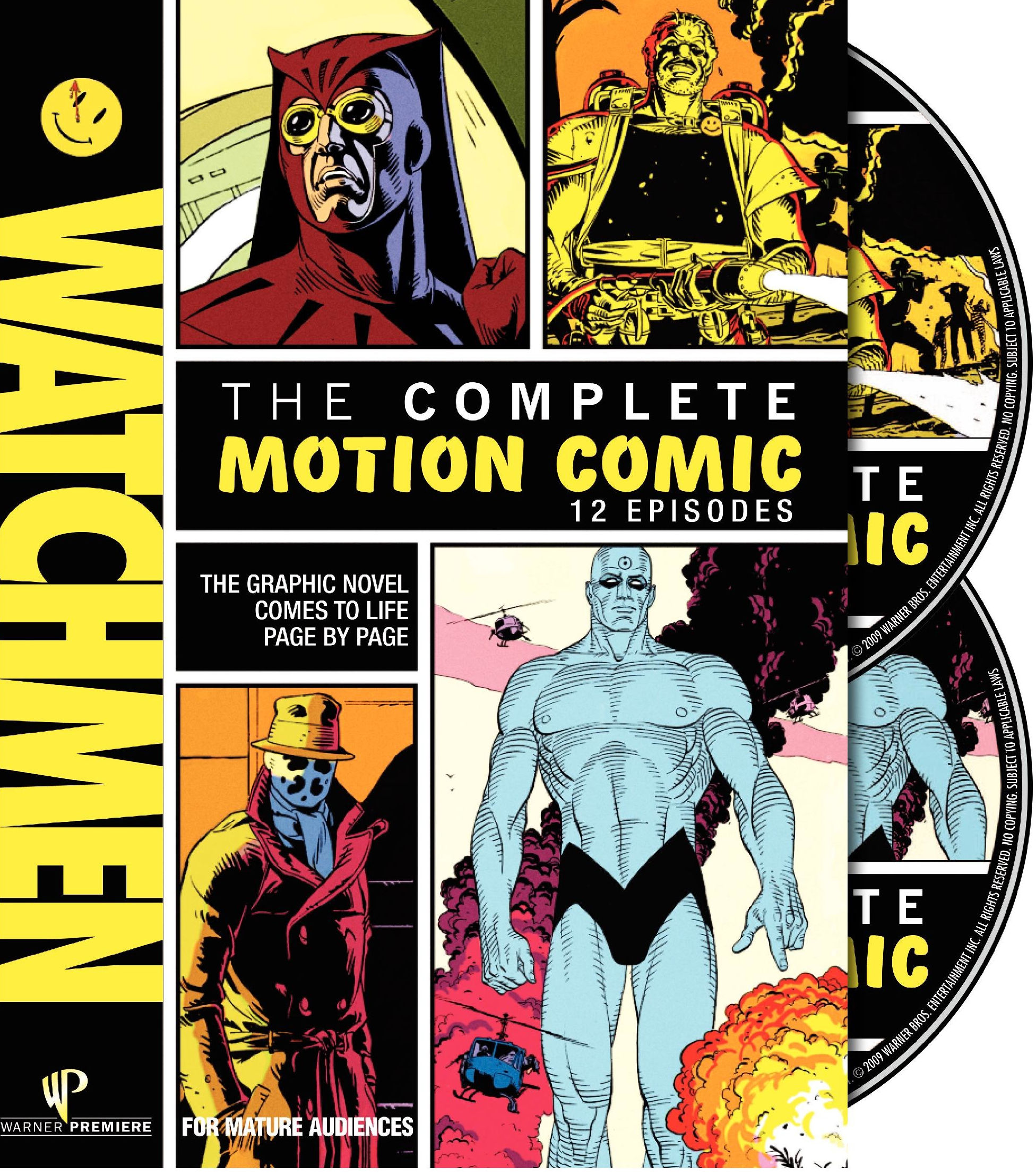 watchmen motion comic New Details About Watchmens Black Freighter Tie in