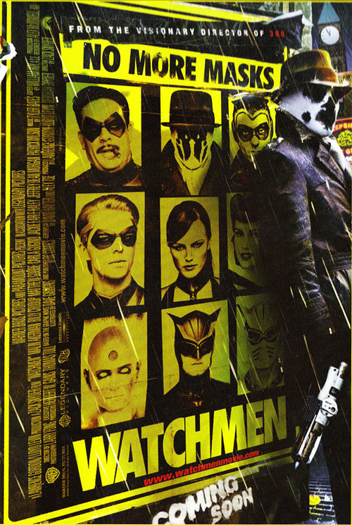 watchmen nomoremasks poster full Will Warner Bros. Make More Watchmen Movies?