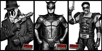 watchmen portraits Very Cool Black & White Watchmen Portraits