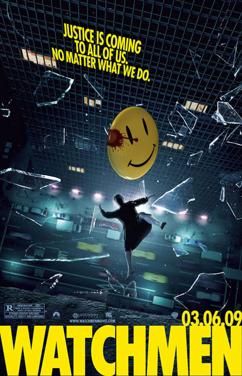 watchmen poster Watchmen Producer Speaks Out About Lawsuit
