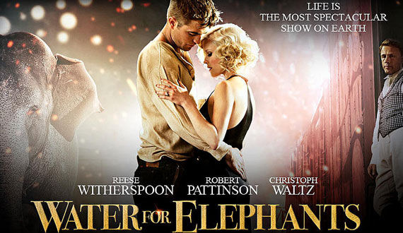 water for elephants poster cropped Video Clip Roundup: Sucker Punch, Soul Surfer, Terra Nova & More