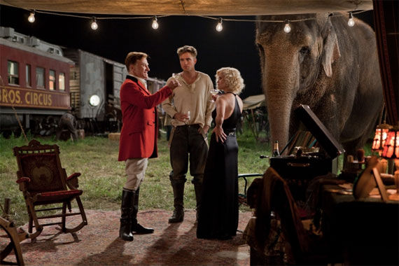 water for elephants still 2 Movie Image Roundup: Thor, Sucker Punch, Underworld 4 & More [Updated]