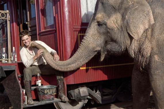 water for elephants still 5 Movie Image Roundup: Thor, Sucker Punch, Underworld 4 & More [Updated]