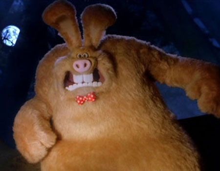 Wallace as the Were-Rabbit from Wallace & Gromit: Curse of the Were-Rabbit - 10 Badass Rabbits (That Aren't the Easter Bunny)