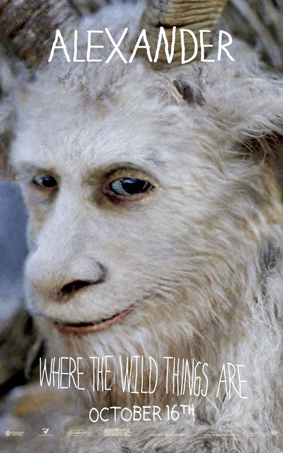 where the wild things are alexander poster Poster Friday: Toy Story 3, Saw VI, A Christmas Carol & Many More!