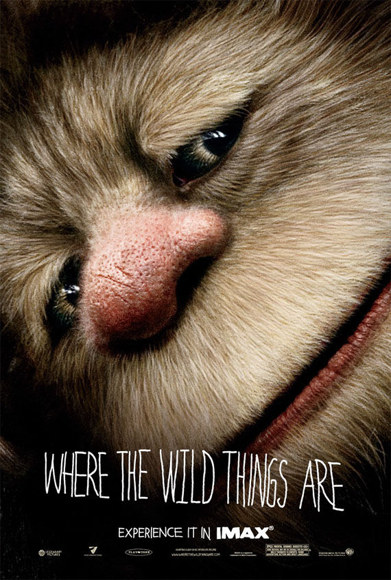 where the wild things are imax poster Poster Friday: Toy Story 3, Saw VI, A Christmas Carol & Many More!