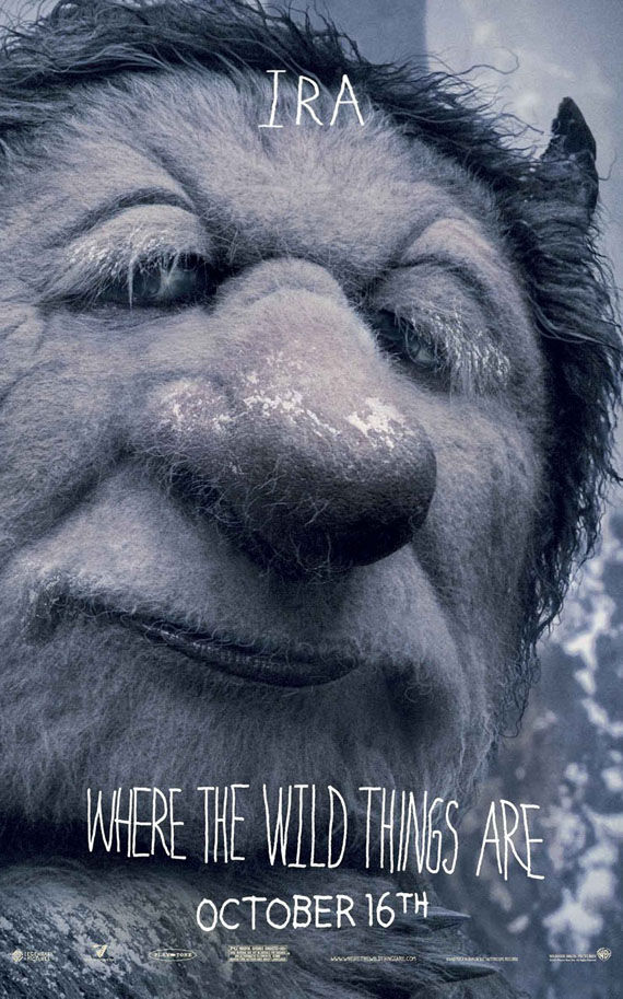 where the wild things are ira poster Poster Friday: Toy Story 3, Saw VI, A Christmas Carol & Many More!