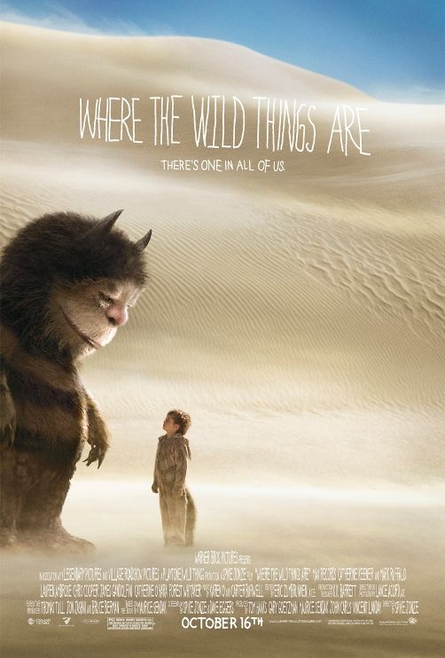 where the wild things are poster3 New Posters: The Road, 2012, Where The Wild Things Are & More!