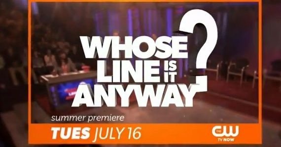 whose line is it anyway title First Look at Whose Line Is It Anyway? on CW   Will it Be a Hit (Again)?