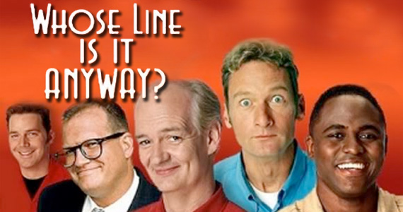 whoselineisitanyway cast title Whose Line Is It Anyway? Premieres in July; Aisha Tyler to Host