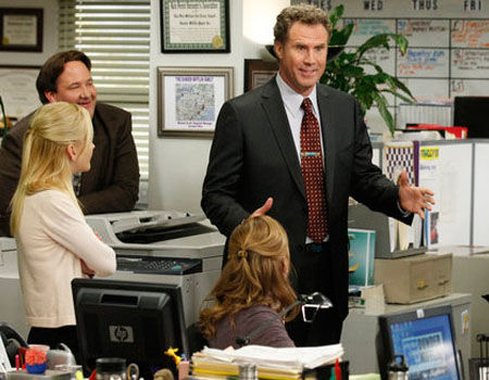 12 Most WTF TV Moments 2011 - Will Ferrell on The Office