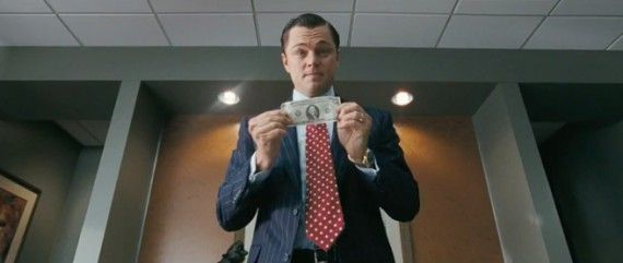 wolf wall street dicaprio money 570x241 Wolf of Wall Street Looks to Make 2013 Release Date; New Trailer Arriving Soon