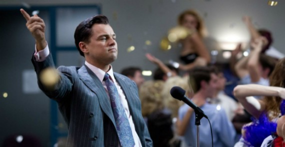 wolf wall street movie leonardo dicaprio 570x294 2014 Oscar Nominations Announced   Were There Any Surprises?