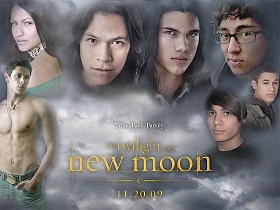 wolfpack Twilight Sagas New Moon Reveals The Wolf Pack