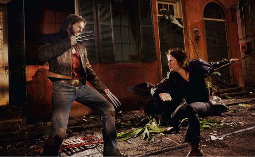 Wolverine fights Gambit