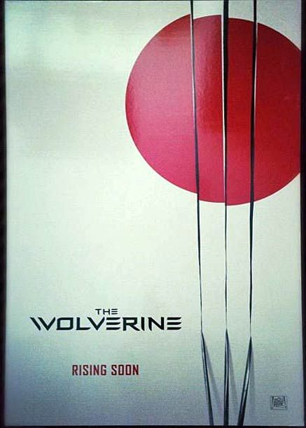 wolverine movie poster Is This The First Poster For The Wolverine?
