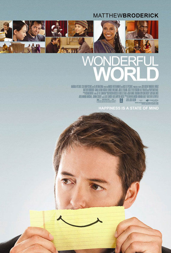 wonderful world poster matthew broderick Poster Friday: Avatar, Kick Ass, Lost, Salt & More!