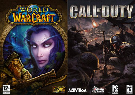 world of warcraft call of duty box art More Video Games Being Made Into Movies