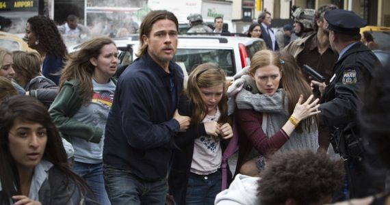 world war z trailer brad pitt1 World War Z Original Ending Revealed; Sequel to Begin Development