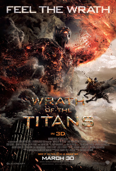 wrath of the titans poster Wrath of the Titans Mega Prize Pack   Winner!