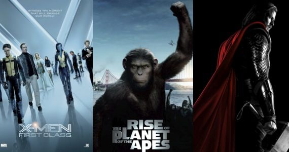 x men apes thor sequel release date New Release Dates for X Men: First Class 2, Thor 2, Rise of the Apes 2 & More