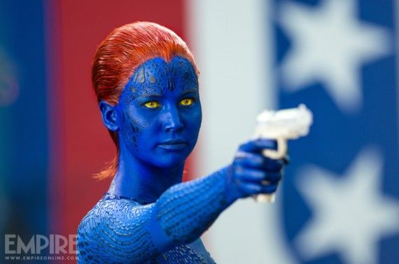 x men days future past mystique gun 570x378 Mystique in X Men: Days of Future Past