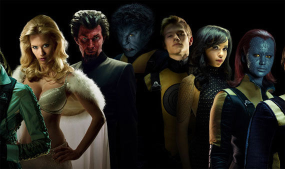X-Men: First Class Characters & Costumes: Official First ...