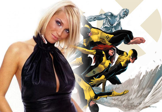 x men first class sarah harding X Men: First Class Gets A Composer & Some Models