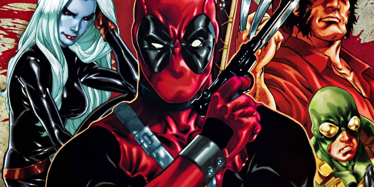 10 Deadpool Comics To Read Before The Movie X Men Deadpool Drawings
