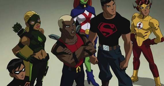 young justice squad cartoon Cartoon Networks Young Justice Gets Premiere Date, New Trailer