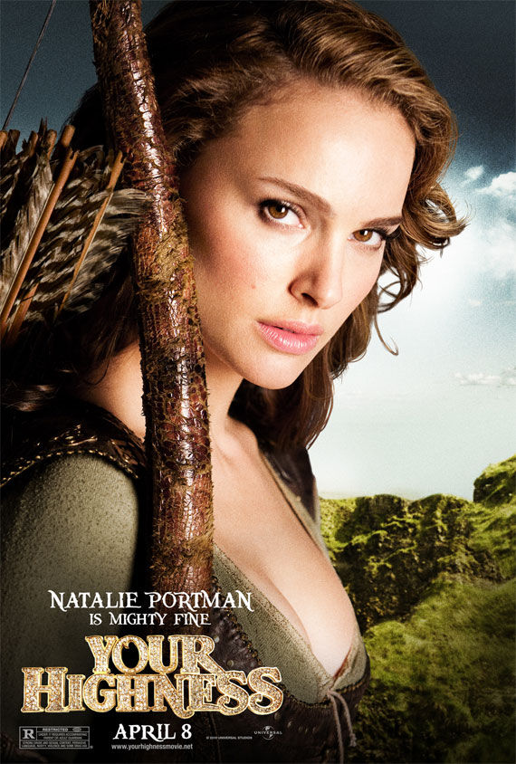 your highness natalie portman movie poster Movie Poster Roundup: Thor, Pirates of the Caribbean 4, Your Highness & More