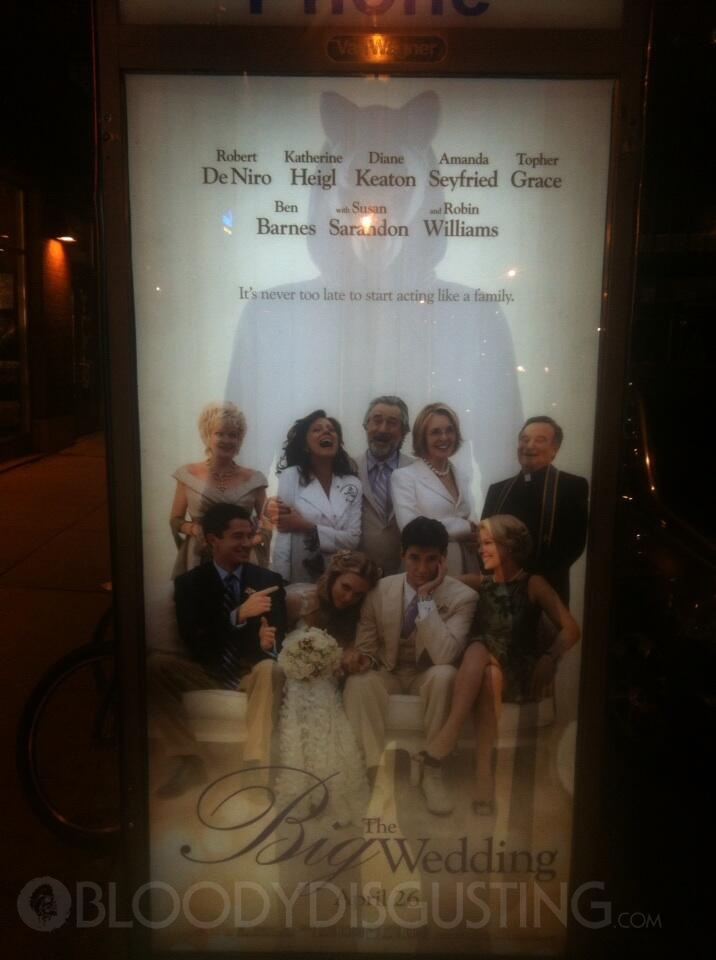 Viral Marketing for 'You're Next' Invades 'The Big Wedding ...