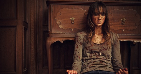 youre next sharni vinson James Wan is Finished with Horror Movies, And it Breaks My Heart [Op Ed]