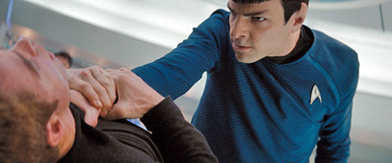 zachary quinto spock 7 Brand New Star Trek Images: Crew, New Bridge And More! [UPDATED]