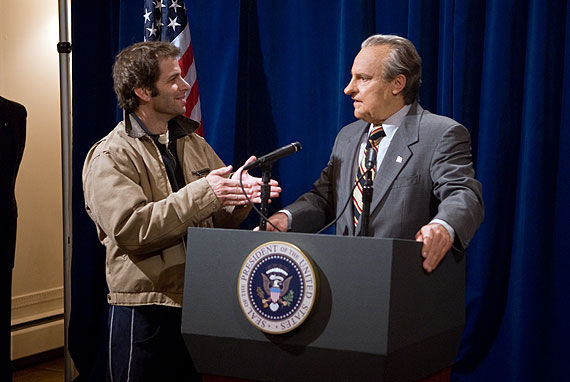 Zack Snyder and President Nixon