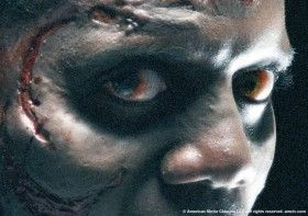 zombie eye contact the walking dead 280x197 First Images of The Walking Dead Look Gruesome