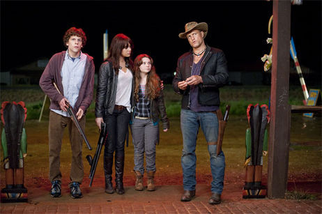 zombieland cast The First Trailer For Zombieland Rocks!