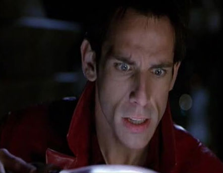 Ben stiller as Derek Zoolander in Zoolander
