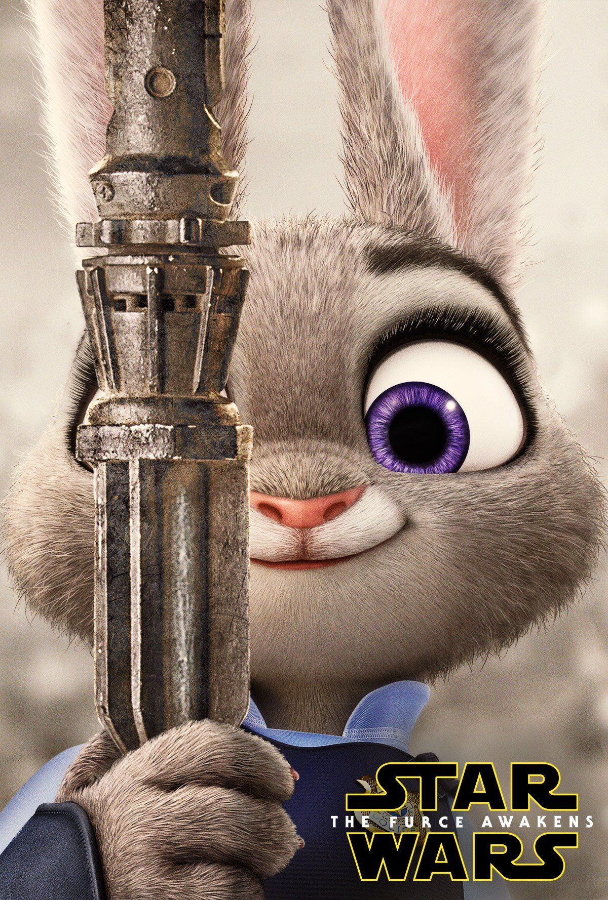 Zootopia posters parody the most popular movies of 2015